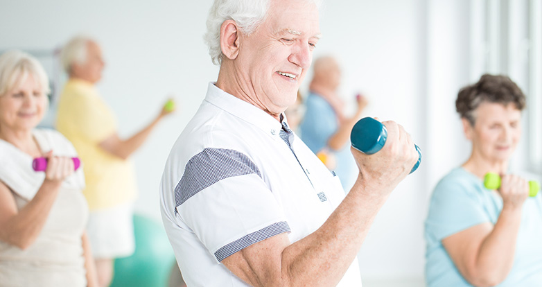 How exercise can help with COPD